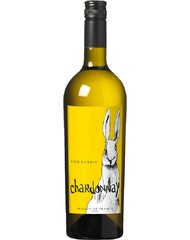 Вино, King Rabbit Chardonnay, бел., п/сух., 13,5%, 0,75 л, ст/б/6