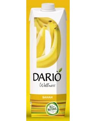 Нектар, Dario Wellness Банан, 1,0 л, т/пак/12