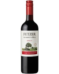 Вино, Fetzer Anthony's Hill Merlot, кр., п/сух., 13,5%, 0,75 л, ст/б/6