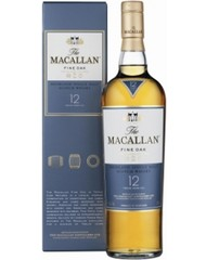 Виски, The Macallan Fine Oak, 12 Y.O., 40%, 0,7 л, ст/б/ПК/6