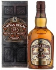 Виски, Chivas Regal, 12 Y.O., 40%, 1,0 л, ст/б/ПК/12
