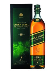Виски, Johnnie Walker Green Label, 40%, 0,7 л, ст/б/ПК/6
