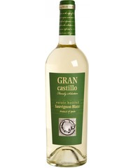 Вино, Gran Castillo Family Selection Sauvignon Blanc, бел., п/сух., 12%, 0,75 л, ст/б/6