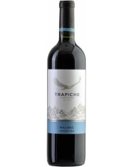 Вино, Trapiche Vineyards Malbec, кр., п/сух., 13%, 0,75 л, ст/б/12
