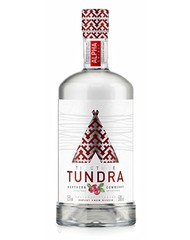 Водка особая, Tundra Northern Cowberry, 40%, 0,5 л, ст/б/12