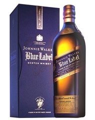 Виски, Johnnie Walker Blue Label, 40%, 0,7 л, ст/б/ПК/6